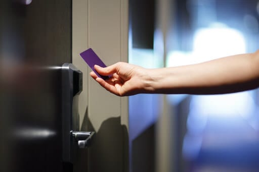 Securing businesses with card access through Orlando Managed Security Services